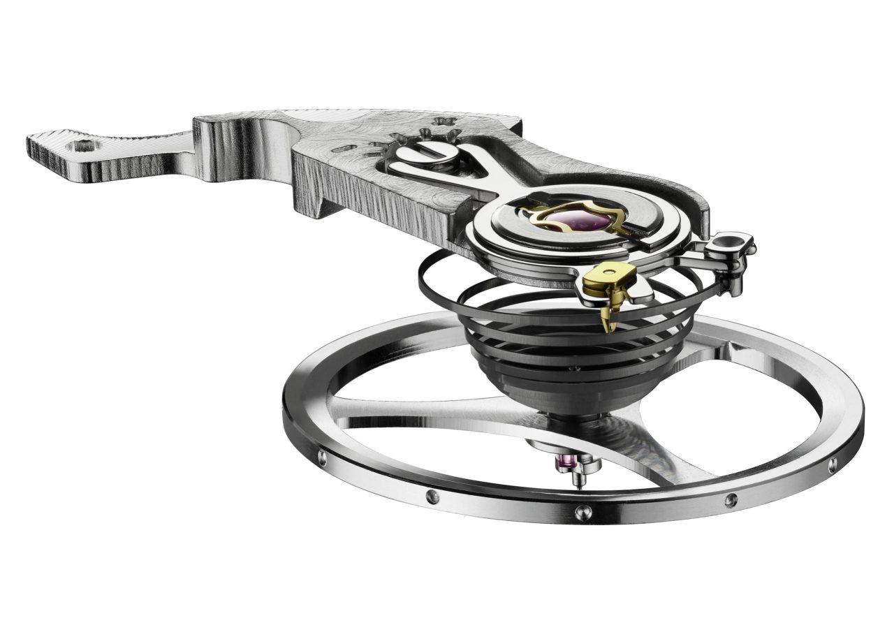 Balance wheel & hairspring_ Autavia Collection