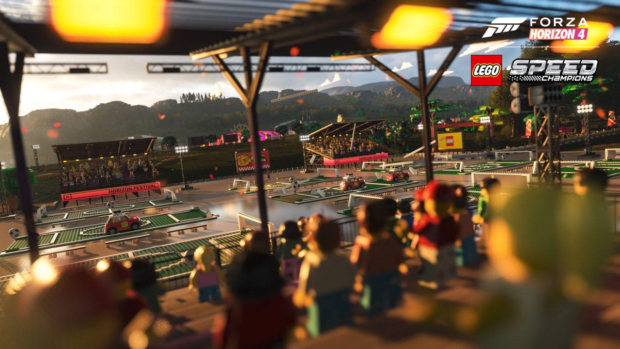 Forza Horizon 4 LEGO Speed Champions Festival Crowd Screenshot