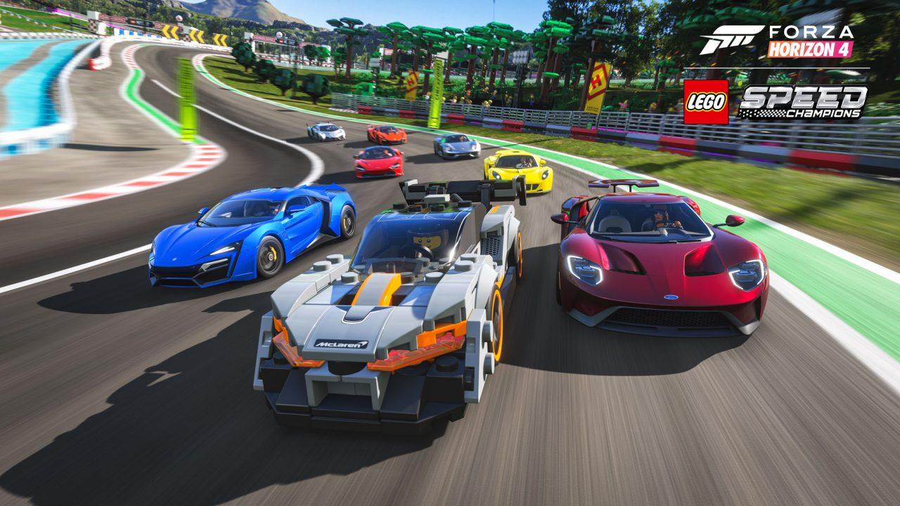 Forza Horizon 4 LEGO Speed Champions Senna Group Race Screenshot