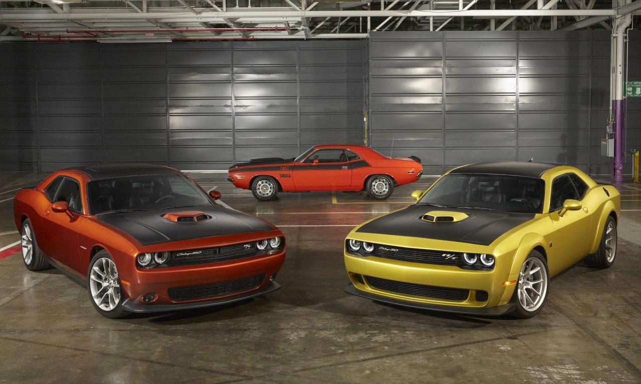 Dodge Challenger 50th Anniversary Edition-1