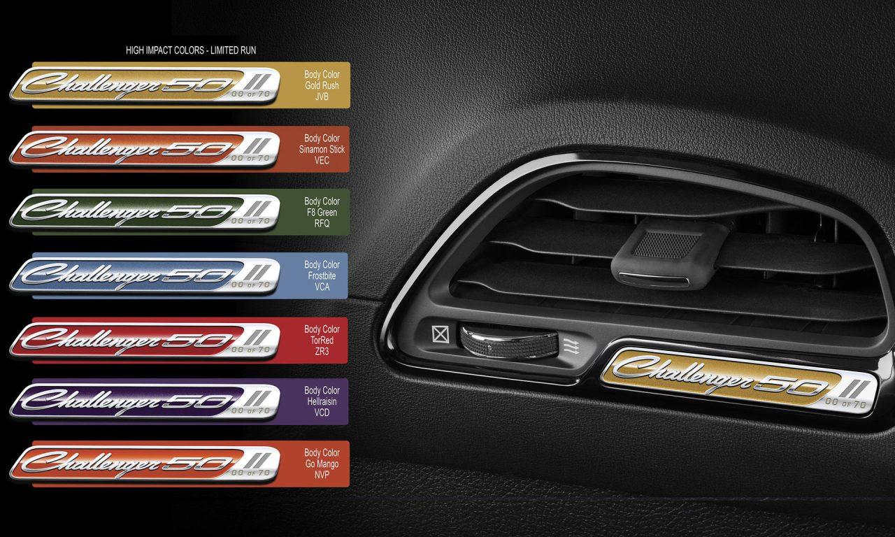 Dodge Challenger 50th Anniversary Edition-7