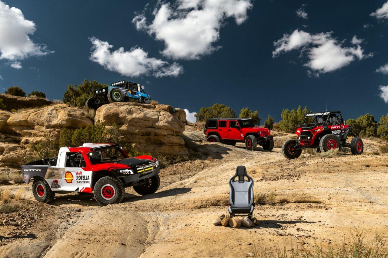 Recaro Cross Sportster ORV and Pro Racer ORV Seats