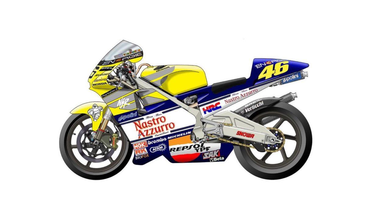 Rossi的本田NSR500