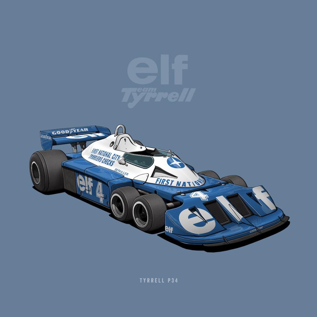 Tyrrell P34 (Six Wheeler)