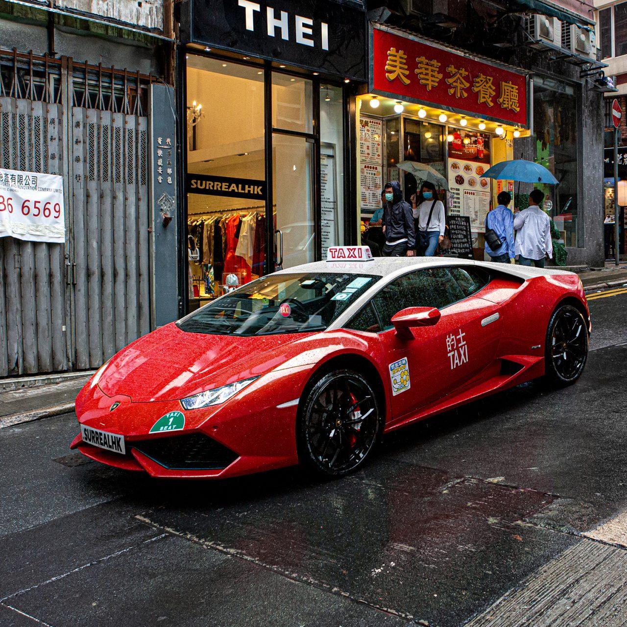 Lamborghini Taxi s1500