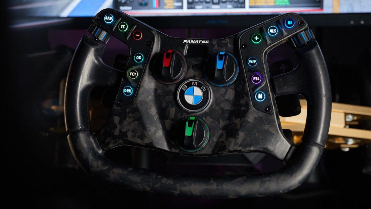 Fanatec BMW wheel