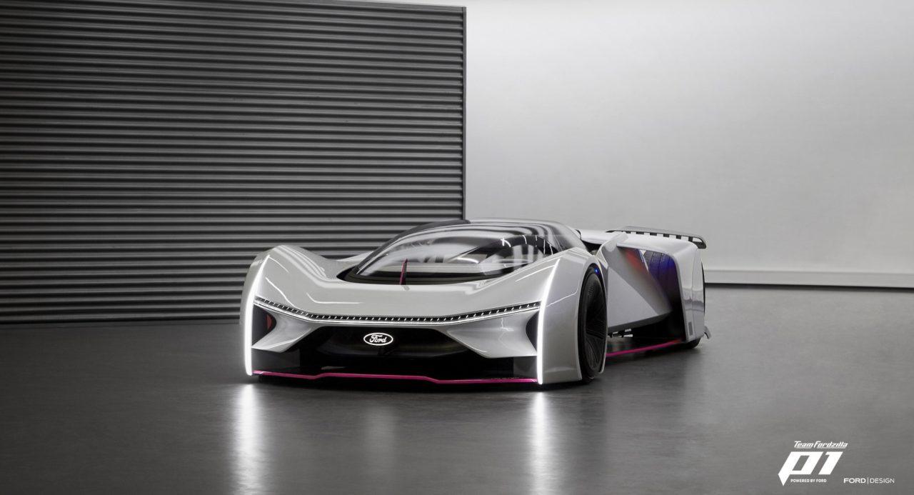 Race to Reality; Team Fordzilla's Extreme P1 Virtual Race Car