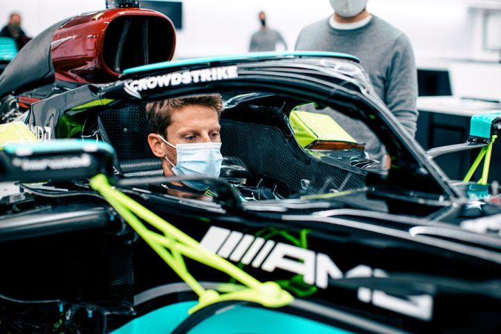 Romain Grosjean Test Announcement