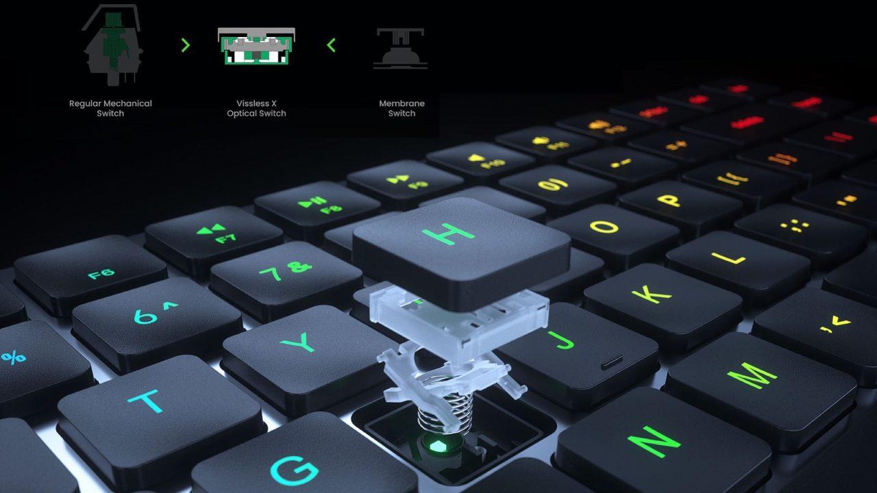 Vissles LP85 keyboard 03